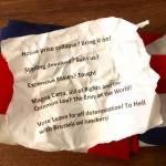 Crumpled Note