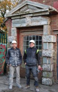 Sir William Chambers' doorcase rebuilt