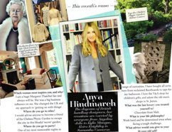 Amuse Magazine's Muse of the Month, Anya Hindmarch