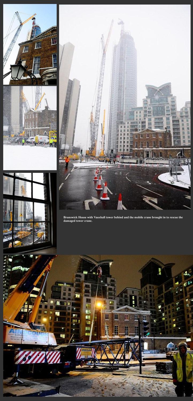 Crane Rescue, Vauxhall Tower, Nine Elms Lane SW9