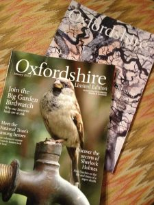 """Oxfordshire Limited Edition"" Magazine, Jan & Feb"