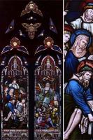Stained glass salvaged by LASSCO