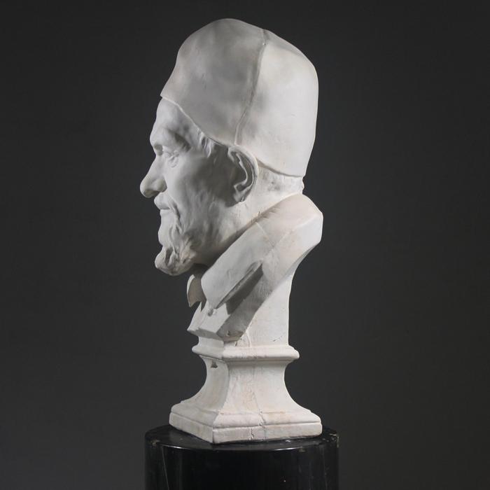 Plaster bust