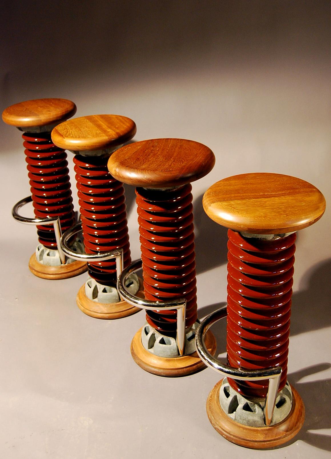 Insulator bar stool