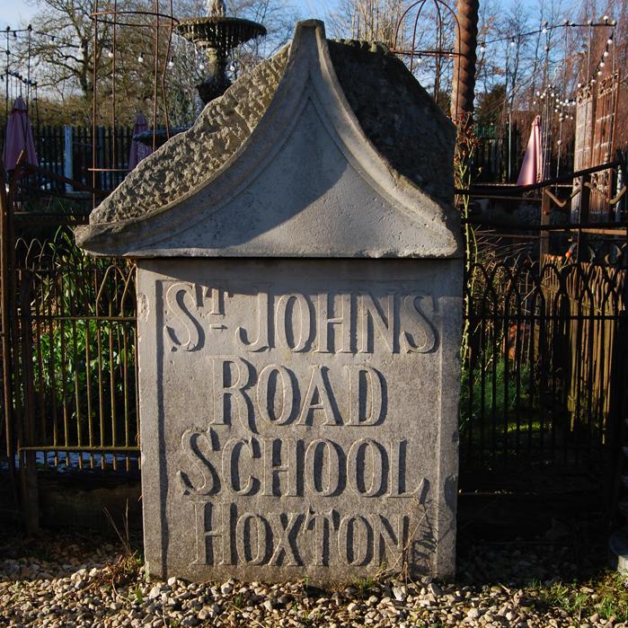 Hoxton plaque