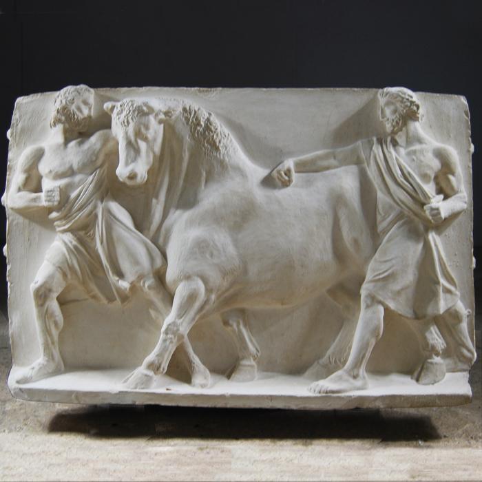 Bull plaque