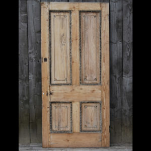 Pine and Gesso Door