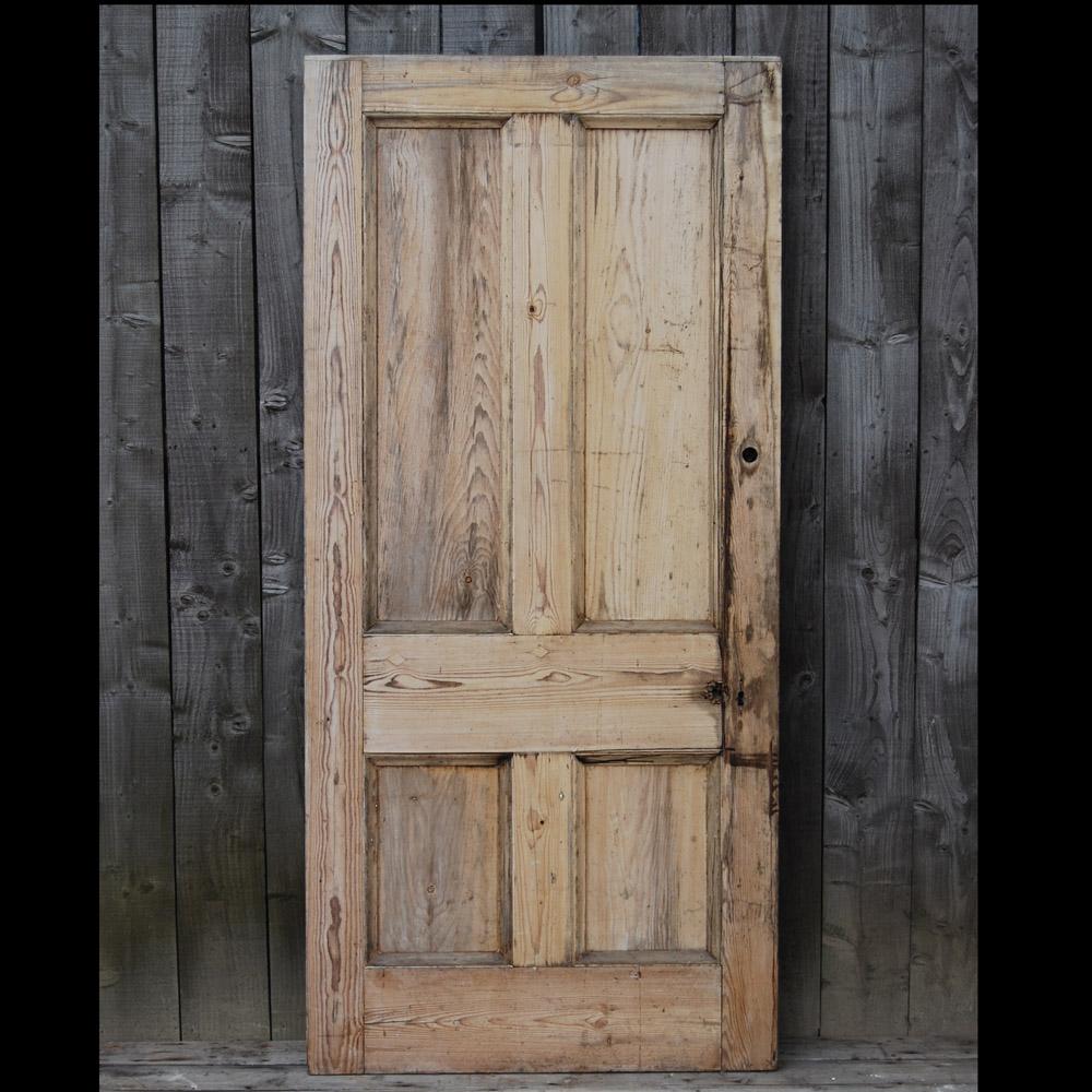 Pine and Gesso Door