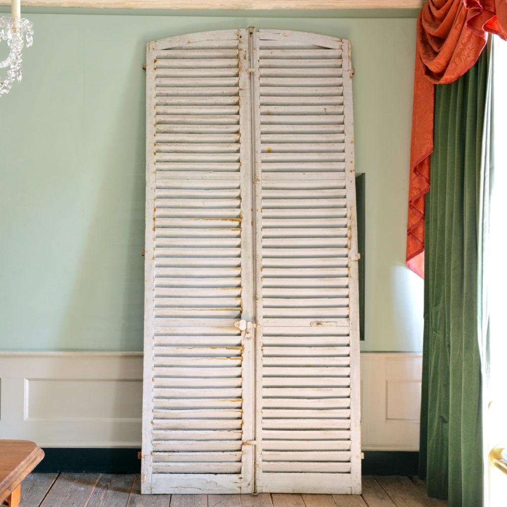 Pair of large shutter doors