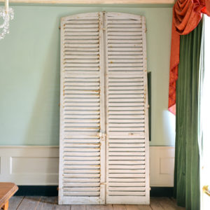 Pair of large shutter doors