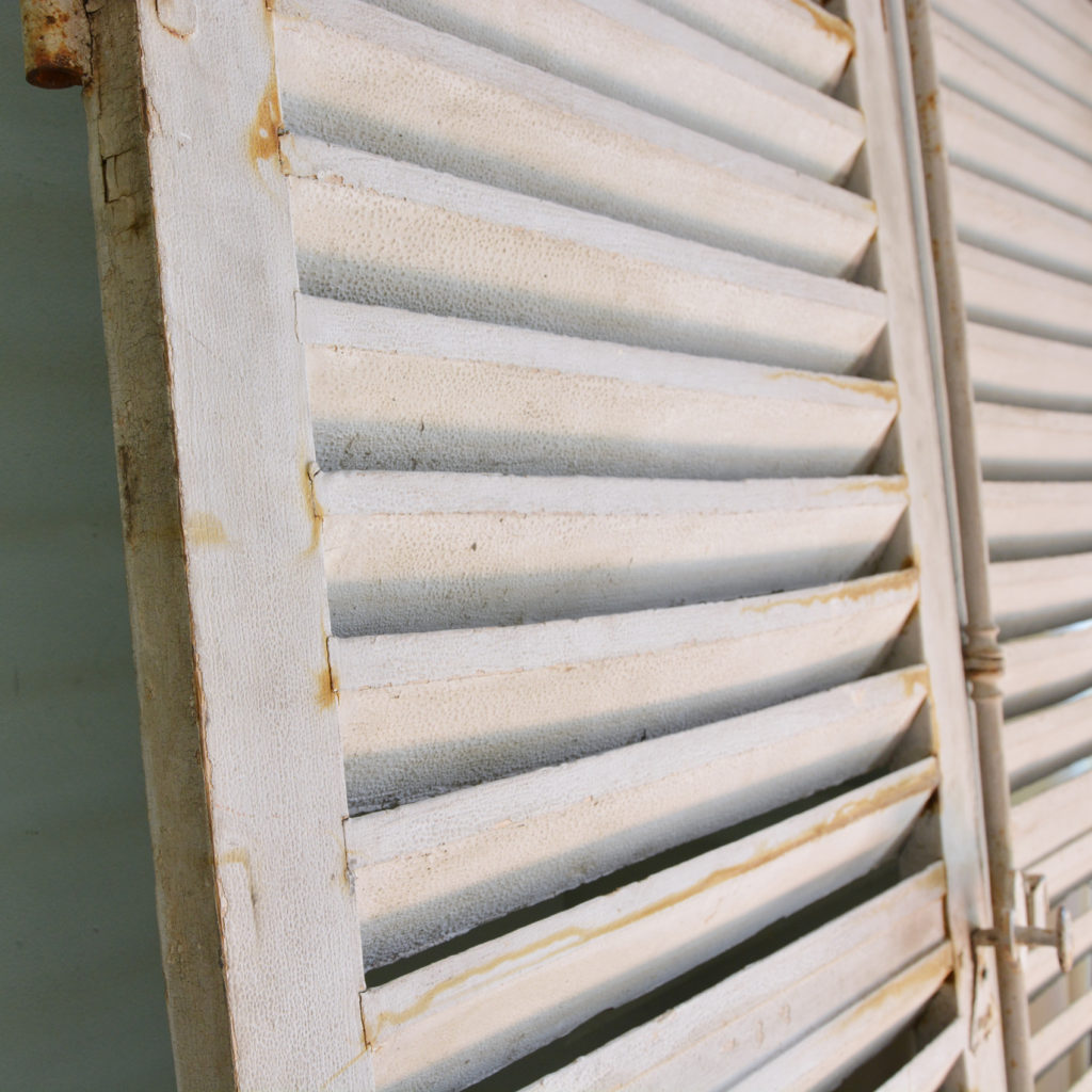 Pair of large window shutters-89866