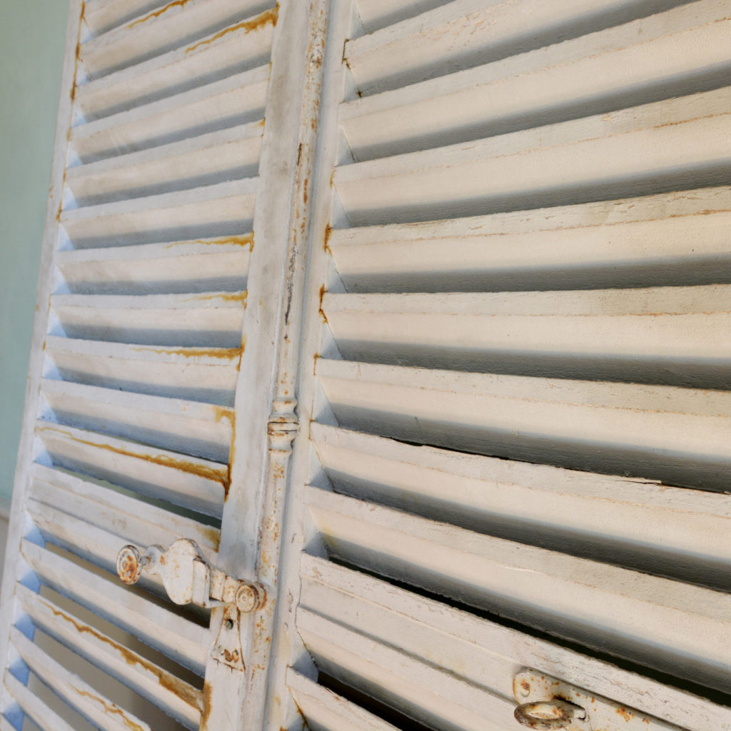 Pair of large window shutters-89859
