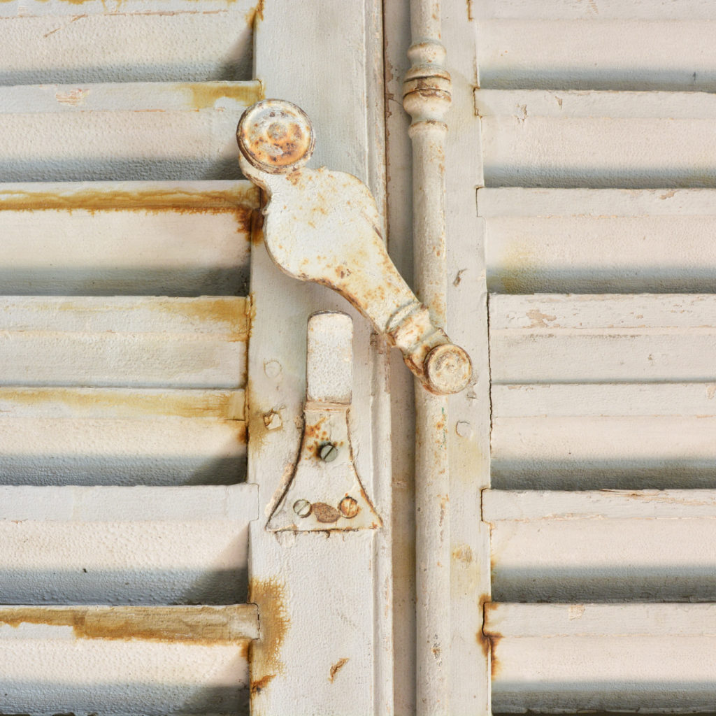 Pair of large window shutters-89867