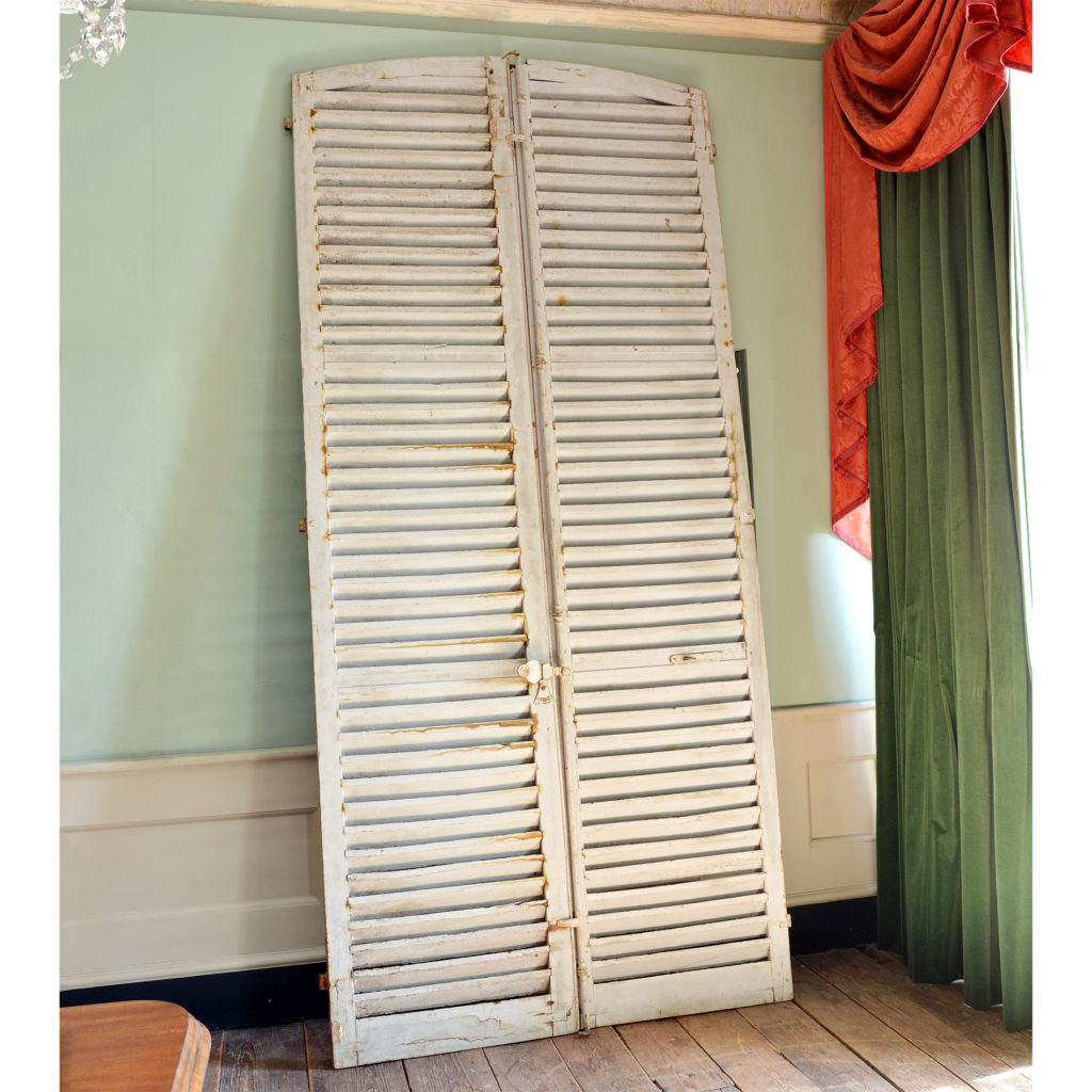Pair of large window shutters-89868