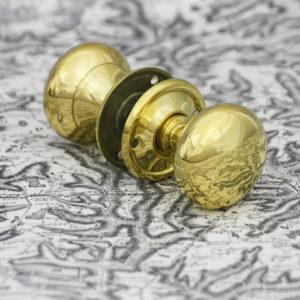 Large Georgian plain doorknob