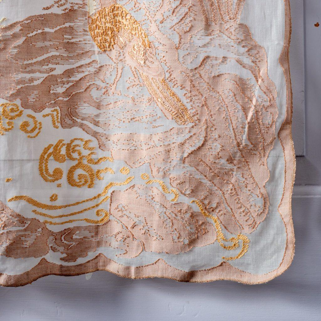 Brunswick lace panel-96993