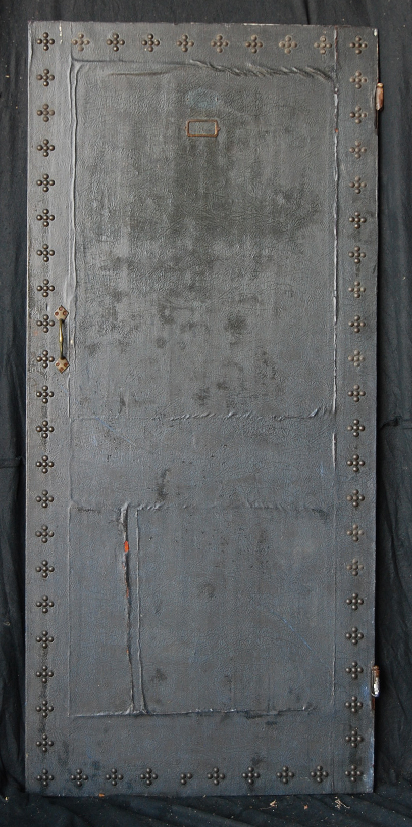 An English pine partition door