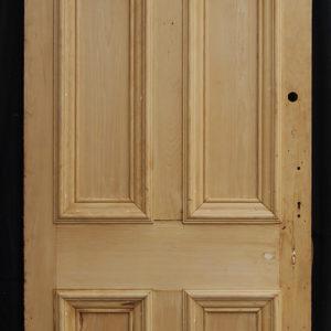 six panel pine door