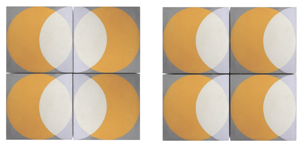 Encaustic 'Elipse' floor and wall tiles by Lindsey Lang-77504