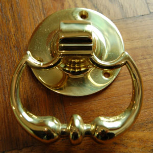 Georgian drop-knuckle door-handles
