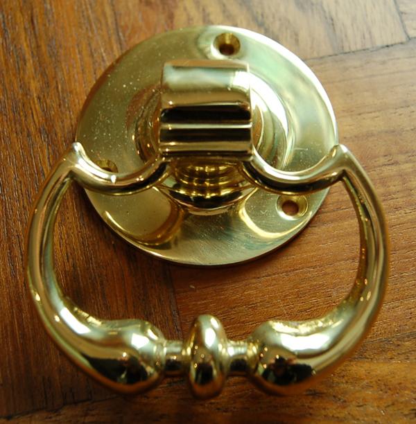 Georgian drop-knuckle door-handles