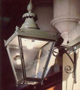 An English copper 'Winsor' lantern-0