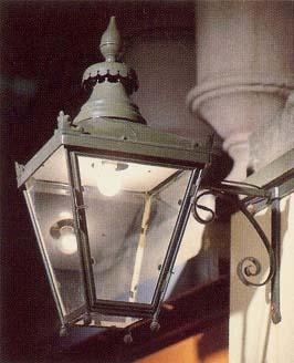 An English copper 'Winsor' lantern-0