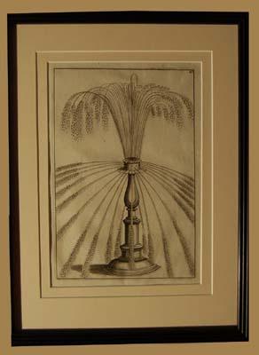 A set of eight Dutch prints of fantastical fountains-64763