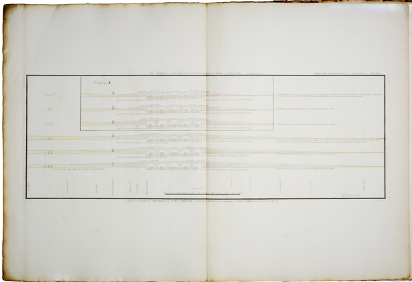 One of a series of plans and drawings referred to in the third report from the select committee upon the improvement of the Port of London-0