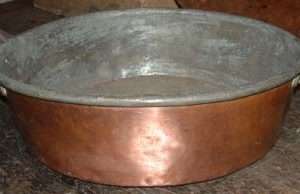 A large copper pot-0