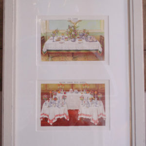 Two Victorian coloured engravings, mounted and framed-0