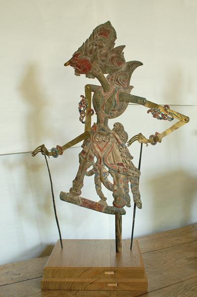 A set of four Javanese 'wayang kulit' puppets-74922