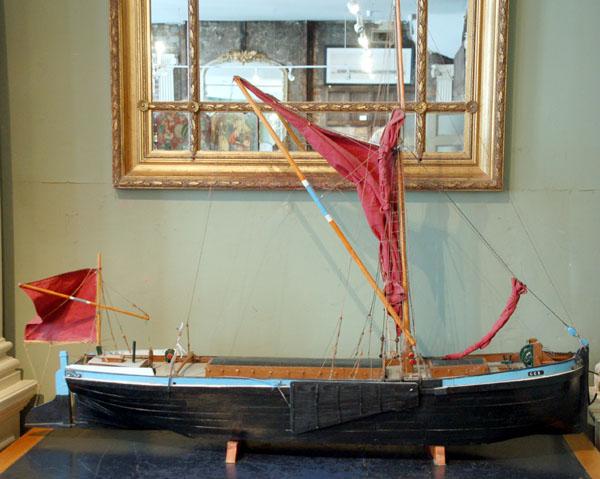 Thames barge model-0