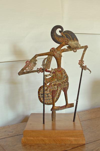 A set of four Javanese 'wayang kulit' puppets-74921