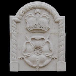 An English Portland stone plaque-0