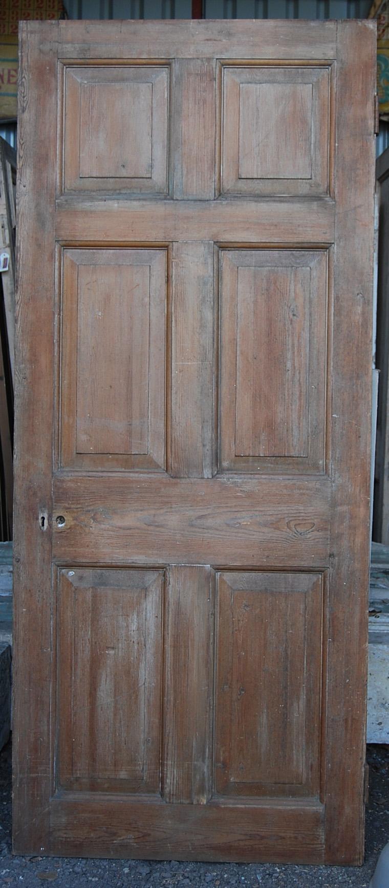 A pine six panel door-70755