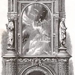 An important Victorian chimneypiece-0