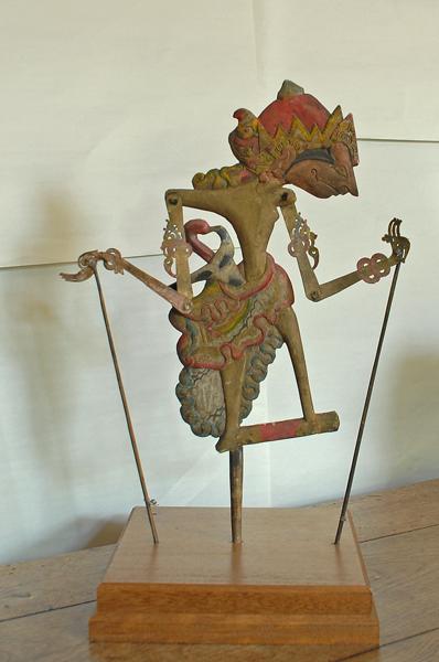 A set of four Javanese 'wayang kulit' puppets-74920
