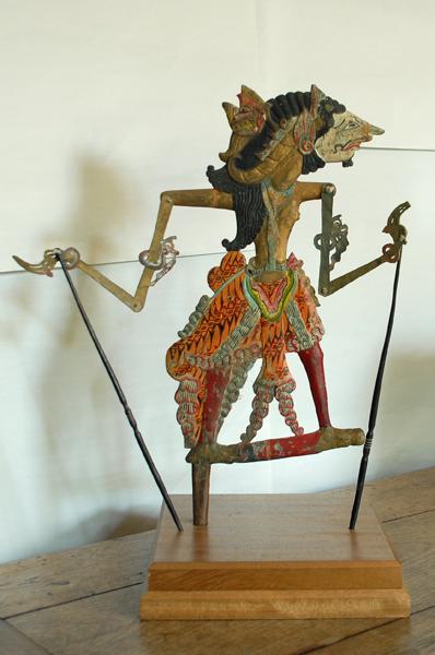 A set of four Javanese 'wayang kulit' puppets-74919