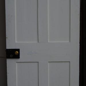 A four panel pine door-0