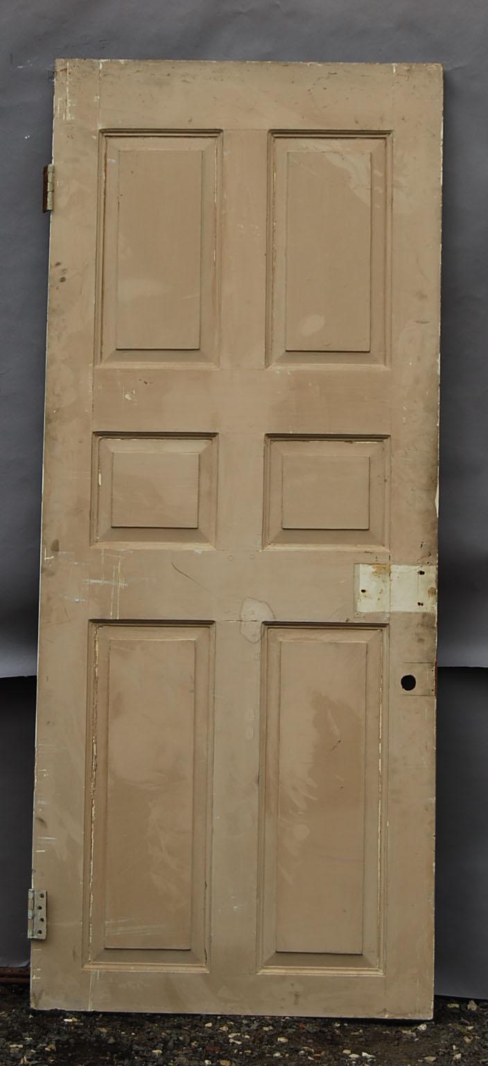 A pine six panel door-0