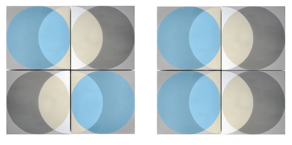 Encaustic 'Elipse' floor and wall tiles by Lindsey Lang-77506