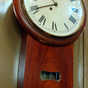 Drop case dial clock-0