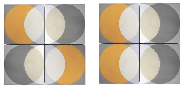 Encaustic 'Elipse' floor and wall tiles by Lindsey Lang-77505