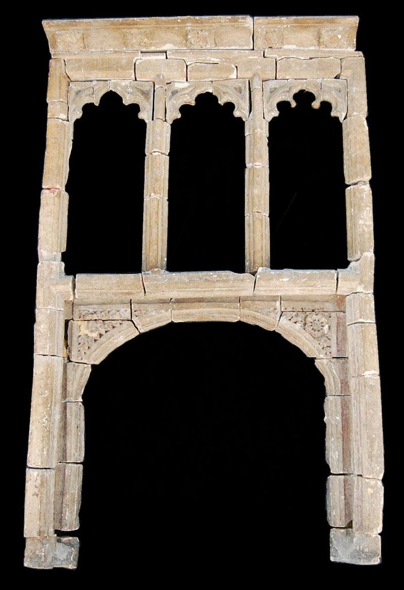 A Henry IV carved stone chimneypiece-0