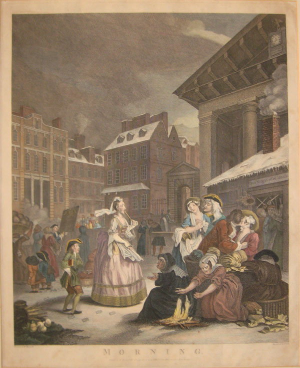 Hogarth, The Four Times of the Day-0