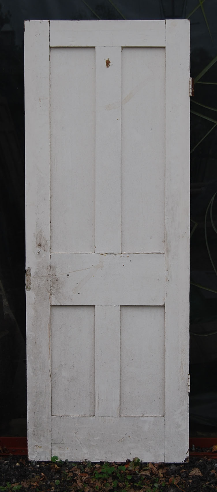 A painted four panel door-0