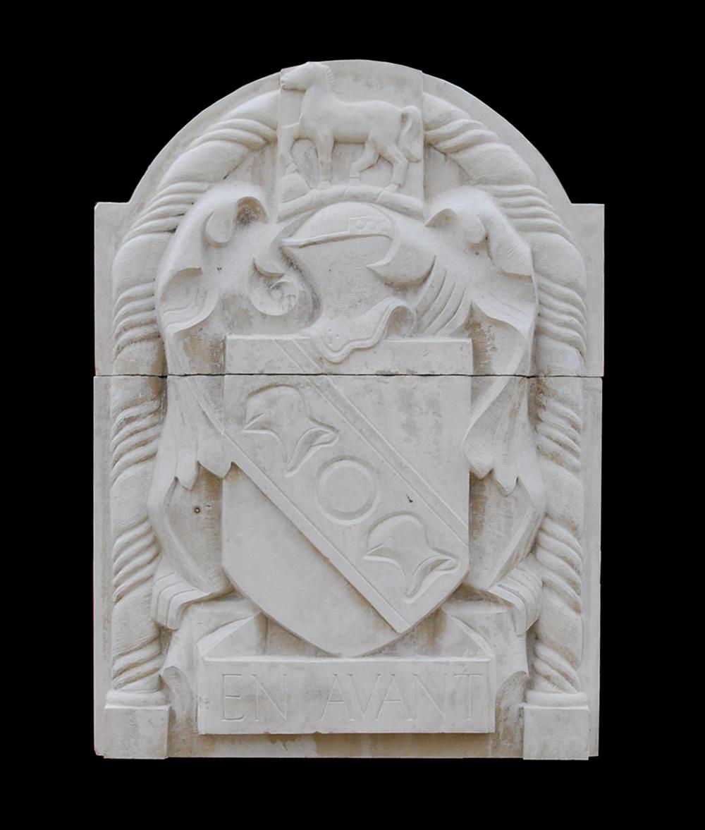 Sir Charles Wheeler PRA - stone plaque