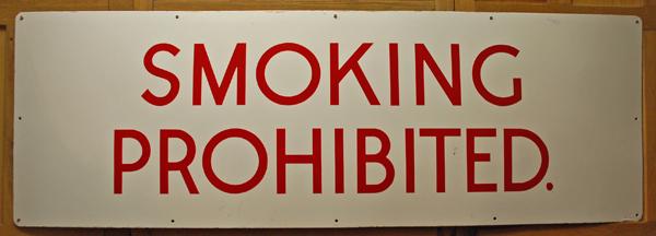'Smoking Prohibited'-0