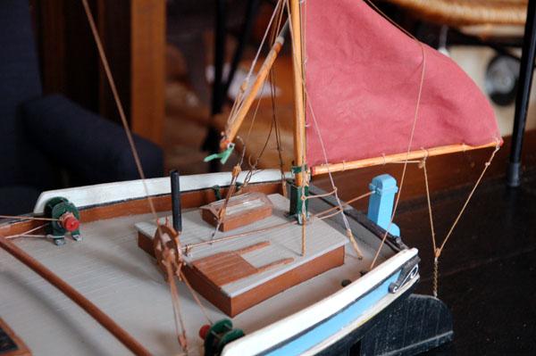 Thames barge model-71977